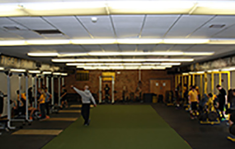 New Stripes: Weight Room Receives a New Look