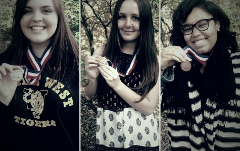 West Journalism team medals at state