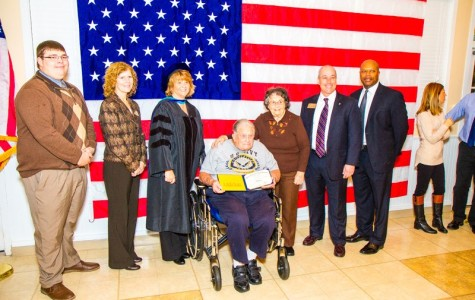 Veteran honored with diploma