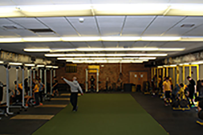Joliet+West+athletes+workout+and+train+on+new+racks+and+turf.+