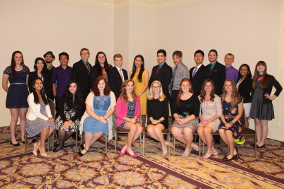 Joliet West Class of 2015 Top 25 were recently recognized at an awards banquet. Photo courtesy of JT Community Relations.