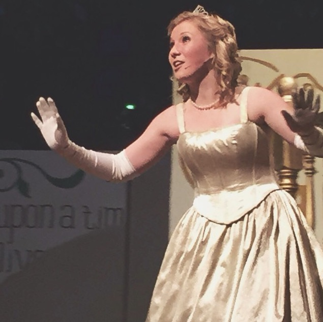 Alexis Smith performs as Cinderella in the recent spring musical,