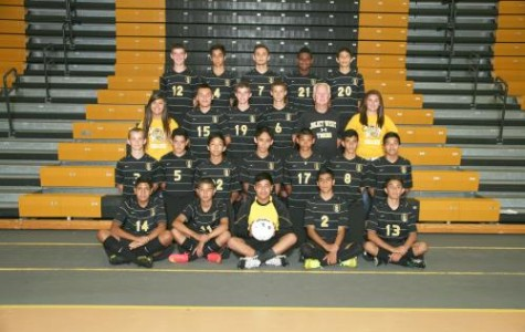 Junior Varsity Boys' Soccer sets goals for the future