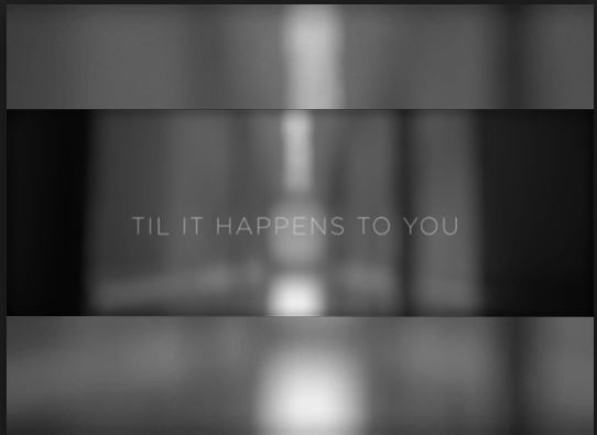 """""""Til it Happens to You"""" is a song written by Diane Warren and Lady Gaga. Lady Gaga sings the song, which focuses on the topic of sexual assault and how hard it's to understand what it's like to experience.Photo courtesy of littlemonstersofficial.com."""