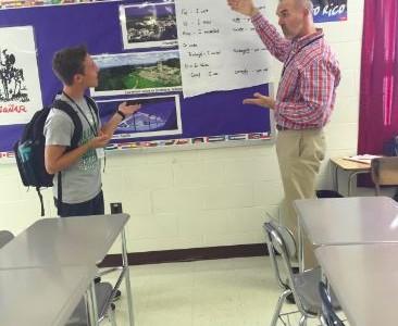 Hawkins spreads school-wide positivity