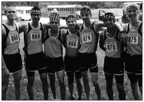 The 2015 Joliet West Boys Cross Country team is a perfect example of a team that never stops working. Photo courtesy of @Tigersdistance on Twitter.