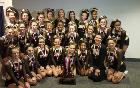 West cheerleaders take State title