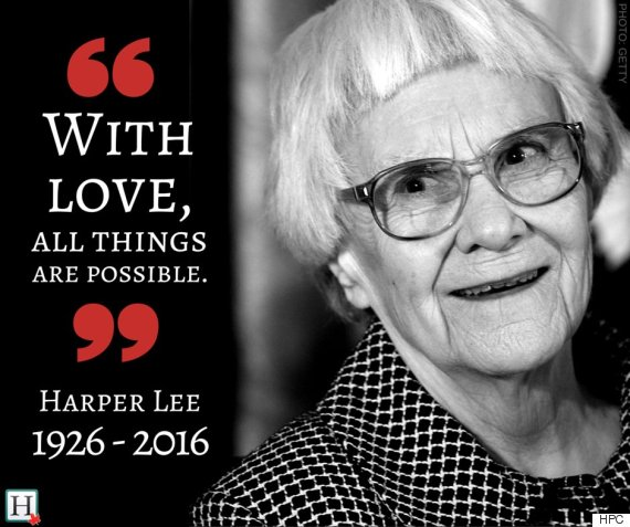 A tribute to Harper Lee