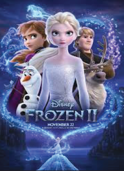 "The official movie poster for ""Frozen 2"". Features all of the main characters that also appeared in the first movie. Photo courtesy of IMDb."