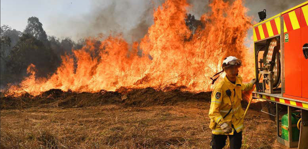 Firefighters and rescuers are fighting bushfires as much as possible, but the fires are continuing to spread across the continent. Image courtesy of Shutterstock.