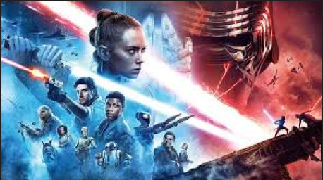The movie poster for Star Wars: The Rise of Skywalker which debuted December 20, 2019, photo courtesy of forbes.