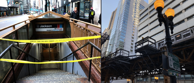 The photograph on the left is of the entrance to the Jackson CTA Red Line station in Chicago. Police blocked off the station after a shooting occurred on February 17, 2020. Left photo courtesy of the Chicago Tribune. The photo on the right is of the L train and CTA platform located on East Lake Street. Right photo courtesy of Haley Maser. Alaina Berk, Freshman Tilaya Orsborn, Sophomore Ethan Higgins, Senior Josh Gualberto, Junior On March 1, New York implemented a ban on plastic bags to improve the environment. Photo courtesy of Forbes.