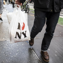 On March 1, New York implemented a ban on plastic bags to improve the environment. Photo courtesy of Forbes.
