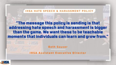 IHSA policy to further protect students against hate speech & harassment