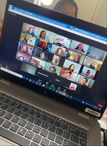 Lauren Johnson joined Multimedia Journalism students via zoom on February 26th in honor of Scholastic Journalism Week.