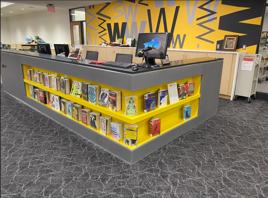 The new circulation desk